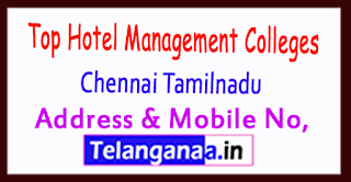 Top Hotel Management Colleges in Chennai Tamilnadu