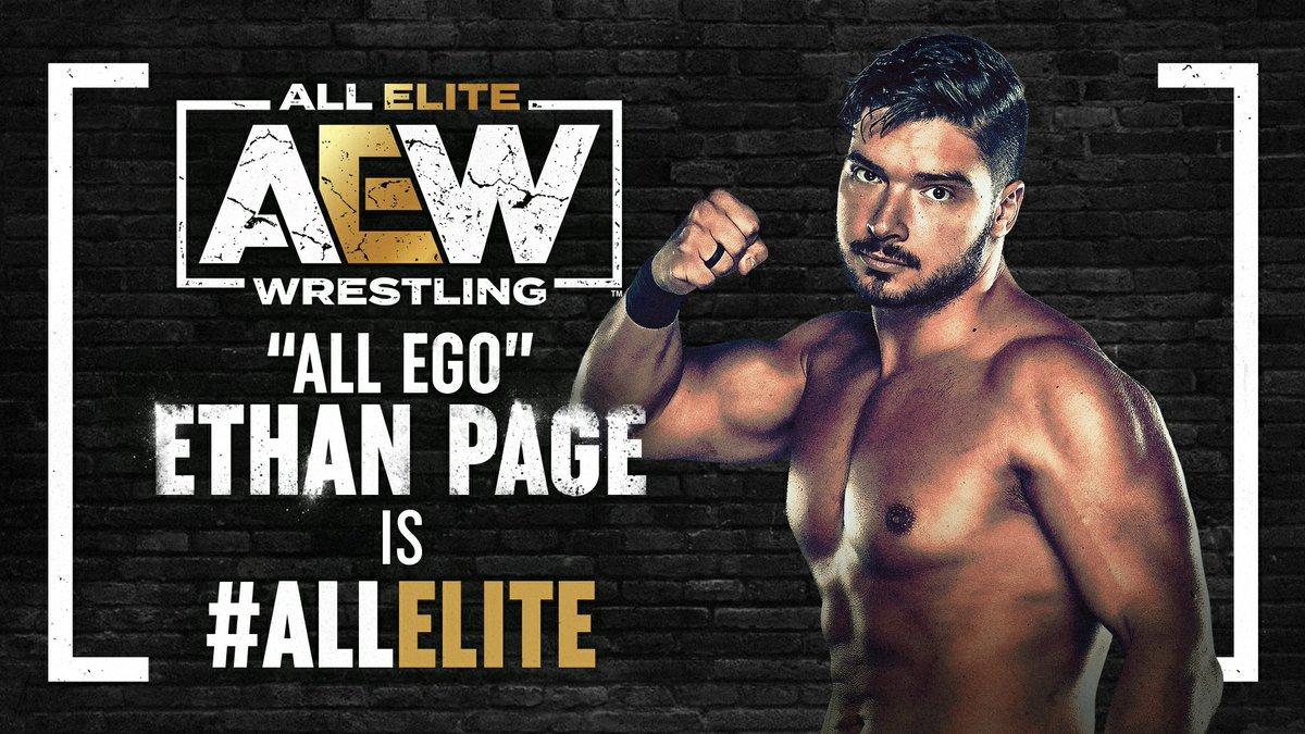 Revelada a duração do contrato de Ethan Page com a AEW