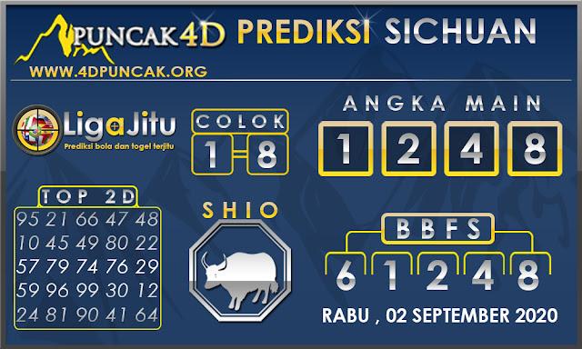 PREDIKSI TOGEL SICHUAN PUNCAK4D 02 SEPTEMBER 2020