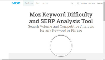 best seo keyword tool, MOZ keyword difficultly tool