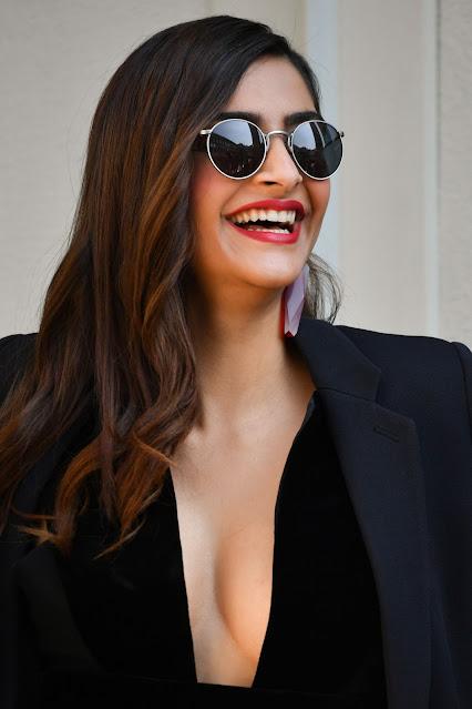 Sonam Kapoor at Giorgio Armani Show at Milan Fashion Week Actress Trend