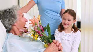 Tareas dedicadas a ancianos, enfermos y dependientes