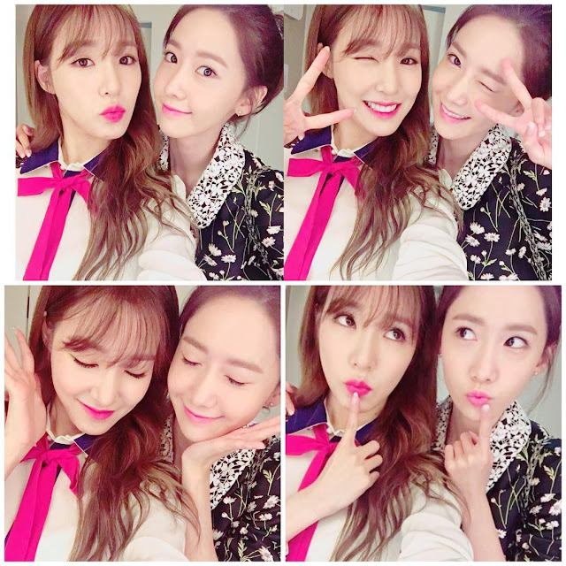 fall for the cute selca pictures of snsds tiffany and