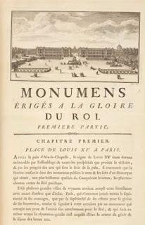 Vue d'ensemble de la place Louis XV