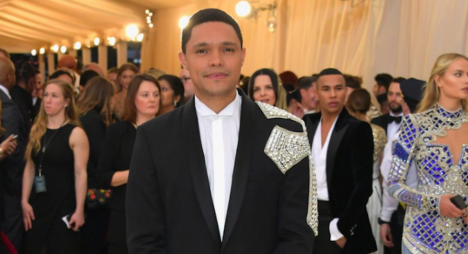 Trevor Noah graces the Met Gala carpet