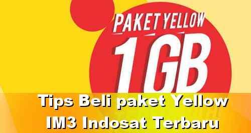 peketan internet yellow harga dua ribu