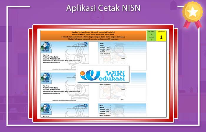 Aplikasi Cetak NISN