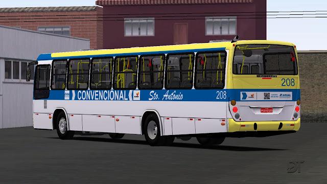 OMSI 2 - Pintura da Expresso Sto. Antônio para o Marcopolo Torino 2007 MB OF-1722M