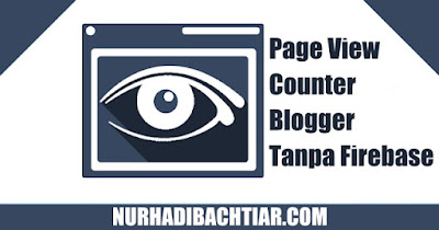page view counter, view counter blogger, page view counter blogger