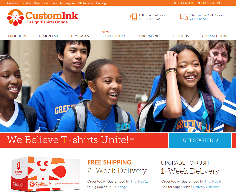 Custom T-Shirts from CustomInk