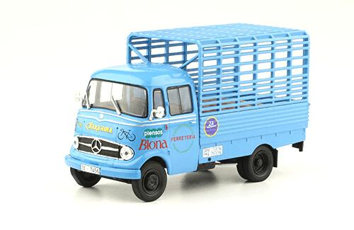 Mercedes-Benz L-319 D 1963 Piensos Biona vehículos de reparto y servicio salvat