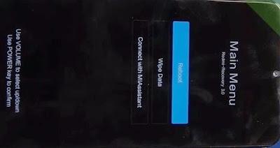 Recovery Redmi Note 8 Pro
