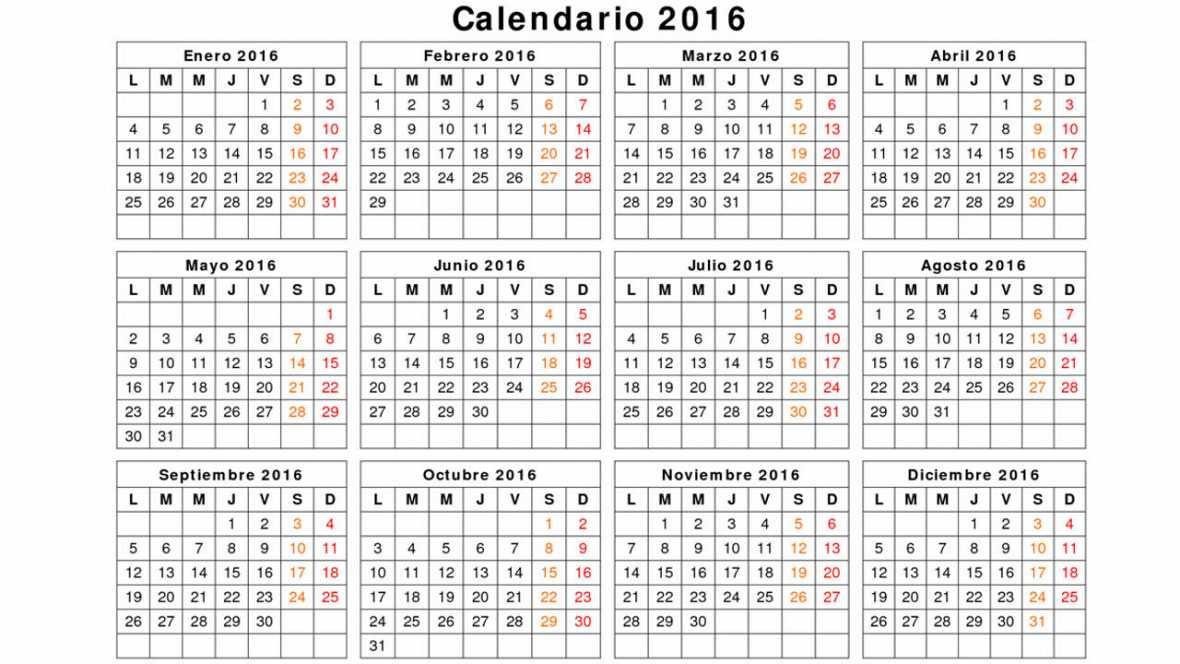 ... TOD@S VAMOS A COMPARTIR EL CALENDARIO 2016 ~ MARITZA ESTA EN TIC