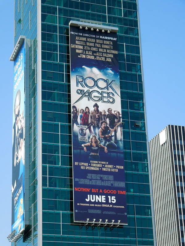 Rock of Ages film billboard