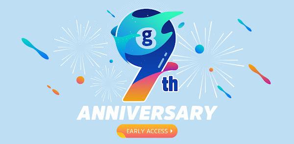 9º Aniversário da Geekbuying - Não percas a grande promoção!