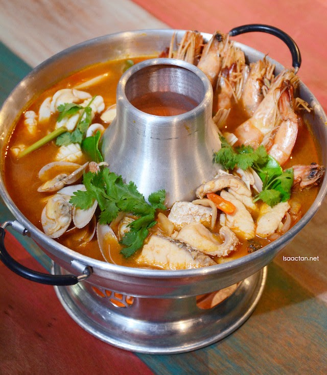 Traditional Tom Yum Seafood - RM18.90, RM28.90, RM39.90