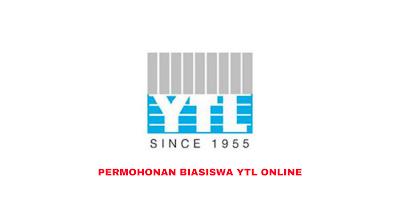 Permohonan Biasiswa YTL 2020 Online