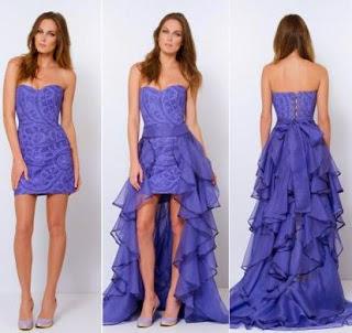 modelo de vestido de debutante sereia