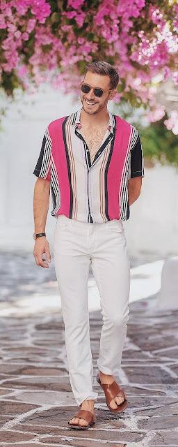 Como Usar Jeans Branco Moda Masculina para criar estilos