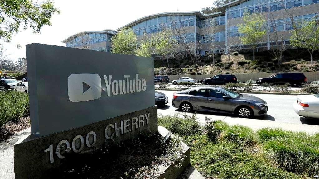 Sede de YouTube en San Bruno, California / AP