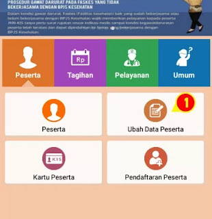 ubah data peserta bpjs via online