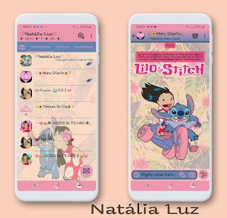 Lilo e Stitcher Theme For YOWhatsApp & Fouad WhatsApp By Natalia Luz