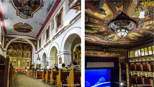 Bogotá, Colômbia: Igreja de La Candelária e Teatro Colón