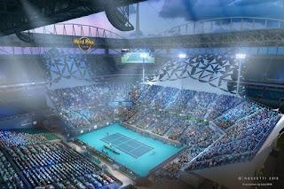 Miami Open Tennis court map