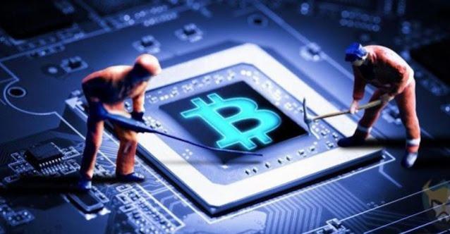 Gambar Ilustrasi Menambang Aset Cryptocurrency