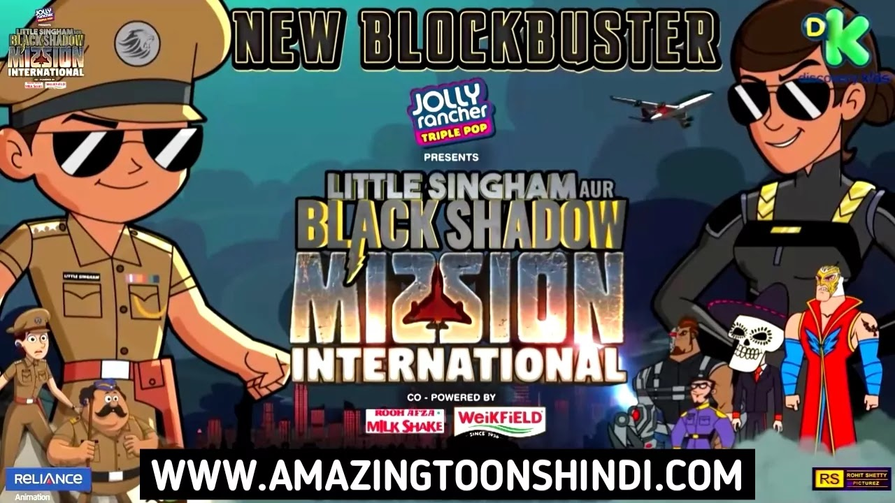 Little Singham aur Black Shadow Mission International Full Movie
