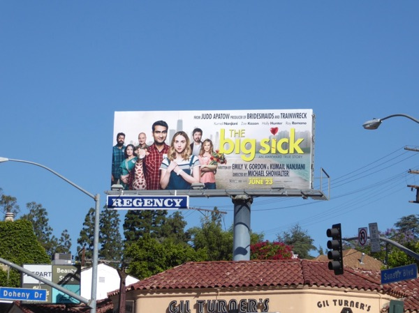 Big Sick film billboard