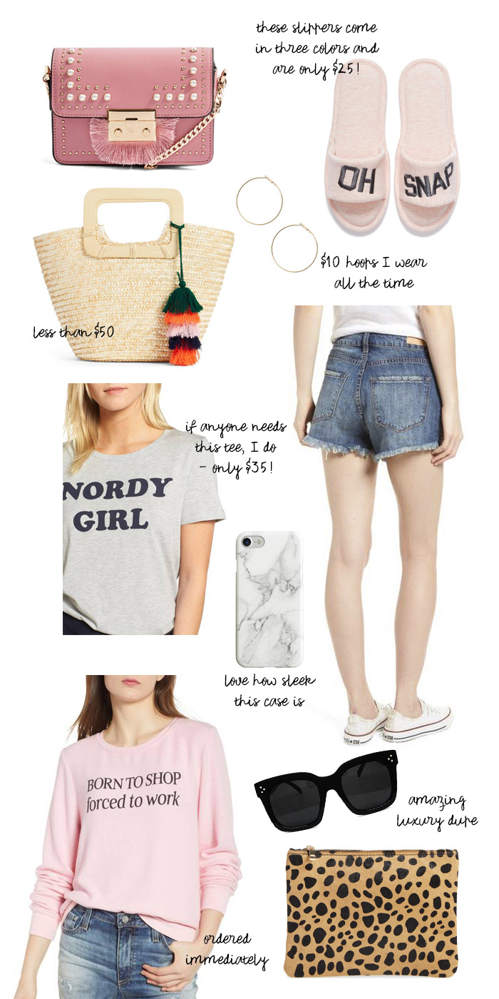 ten favorite clothing and accessories under $70