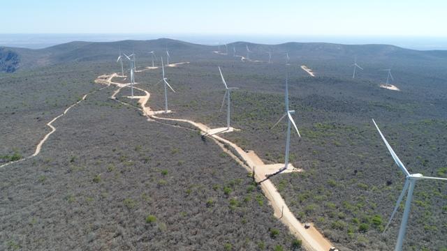 Aneel autoriza operação comercial de nove aerogeradores do Conjunto Eólico Umburanas