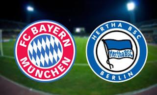 Бавария – Герта смотреть онлайн бесплатно 16 августа 2019 прямая трансляция в 21:30 МСК.