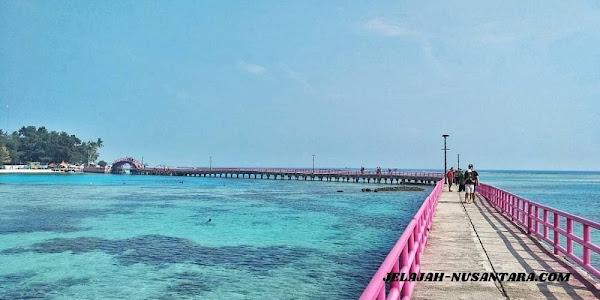 destinasi wisata trip satu hari pulau tidung kepulauan seribu selatan