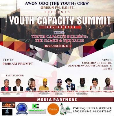 Register for The Youth Capacity Summit 2017