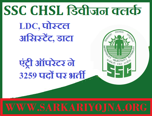 SSC CHSL 2017 Result With Marks