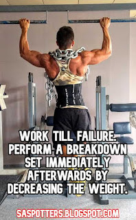 Work till failure. Perform a breakdown set immediately afterwards by decreasing the weight.