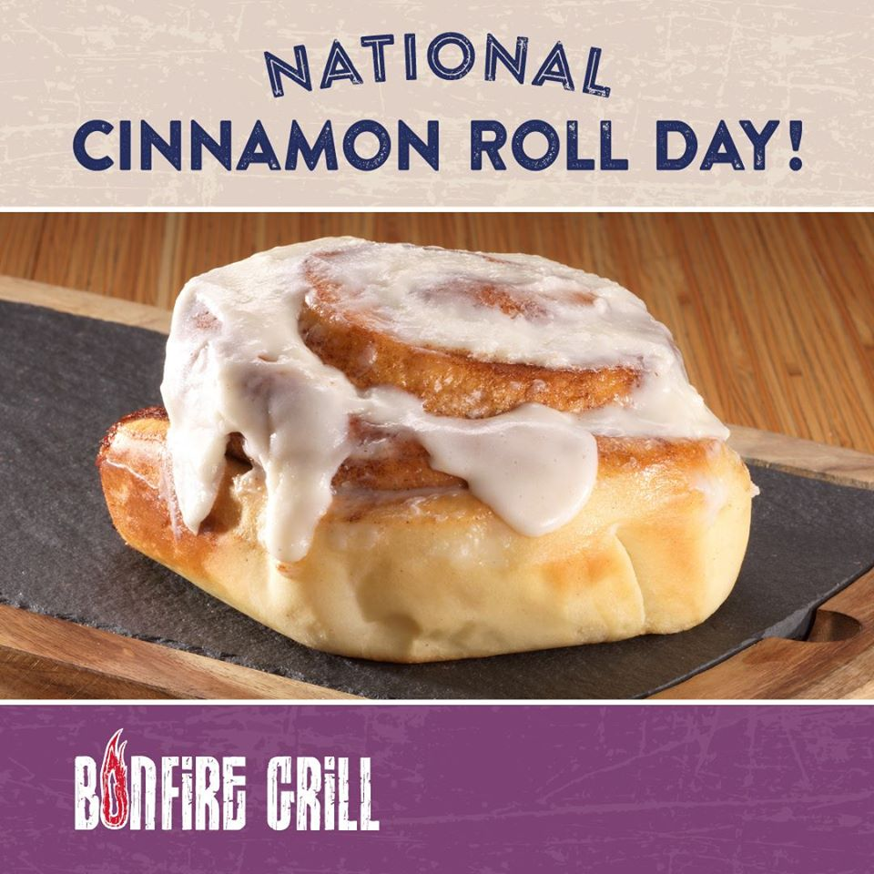 National Cinnamon Roll Day Wishes Images download