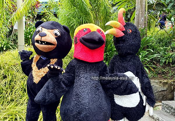 Mascot Borneo Bird Festival