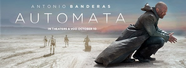 AUTOMATA -A Post-Apocalyptic Movie starring Antonio Banderas [ A Short Review ]