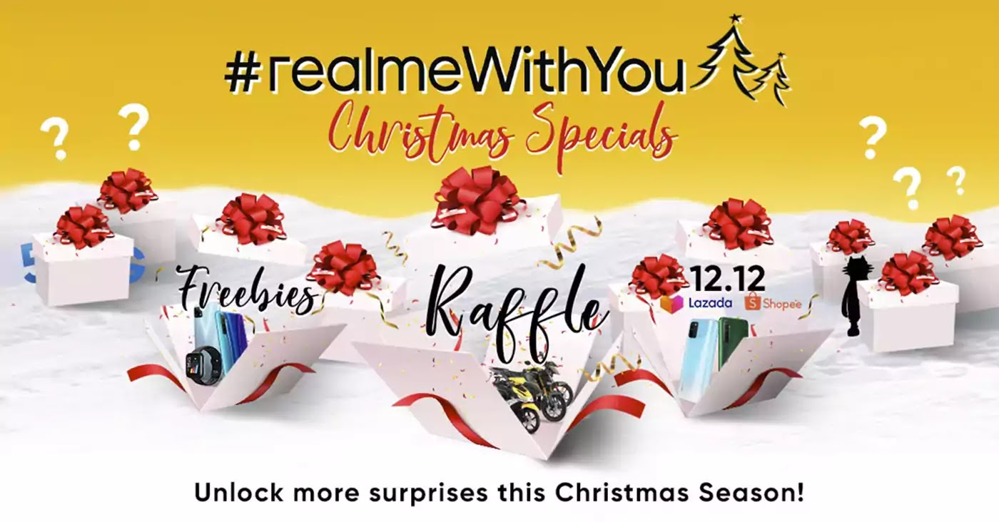 #realmeWithYou Christmas Specials