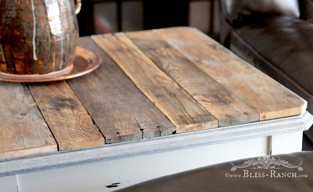 Pallet Topped Coffee Table, Bliss-Ranch.com