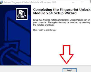 Unlock Windows PC with Fingerprint Scanner button