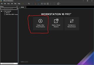 كيفية إنشاء نسخة ويندوز افتراضية على  VMware Workstation