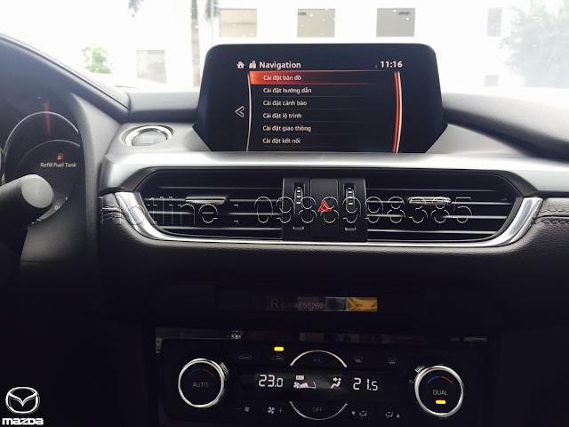 Mazda 6 bản đồ tiếng việt