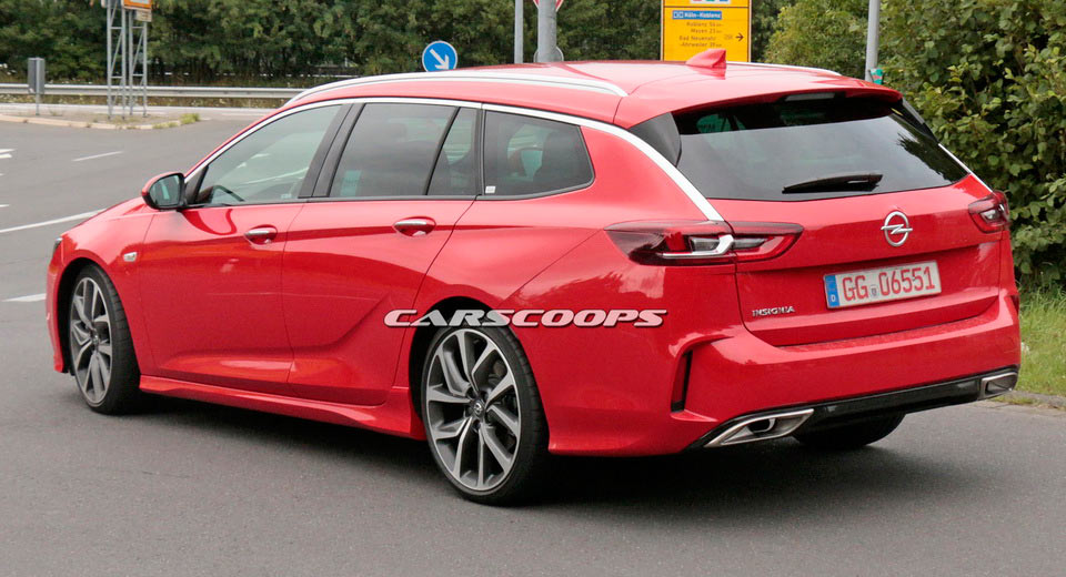 upcoming opel insignia gsi looks good in sports tourer form. Black Bedroom Furniture Sets. Home Design Ideas