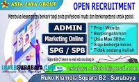 Open Recruitment at Asia Jaya Group Surabaya Terbaru Oktober 2019