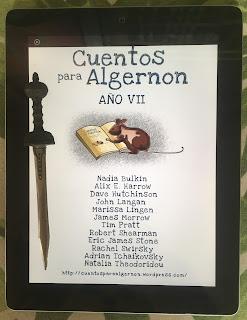 Portada del libro Cuentos para Algernon. Año VII, de varios autores