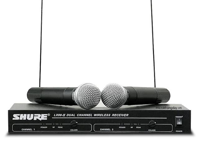 Micro Shure LX 88II